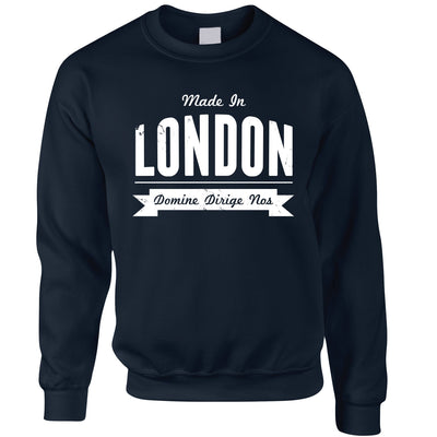 Hometown Pride Jumper Made in London Banner Sweatshirt Sweater