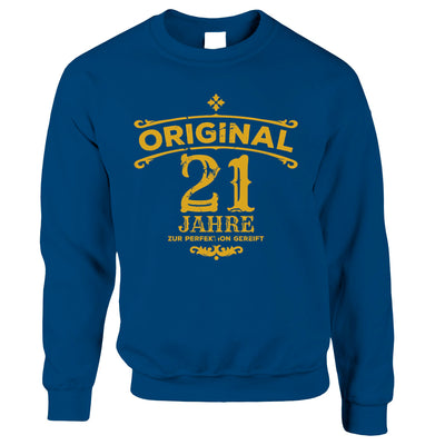 21st Birthday Jumper Original Aged Years Twenty One Sweatshirt Sweater