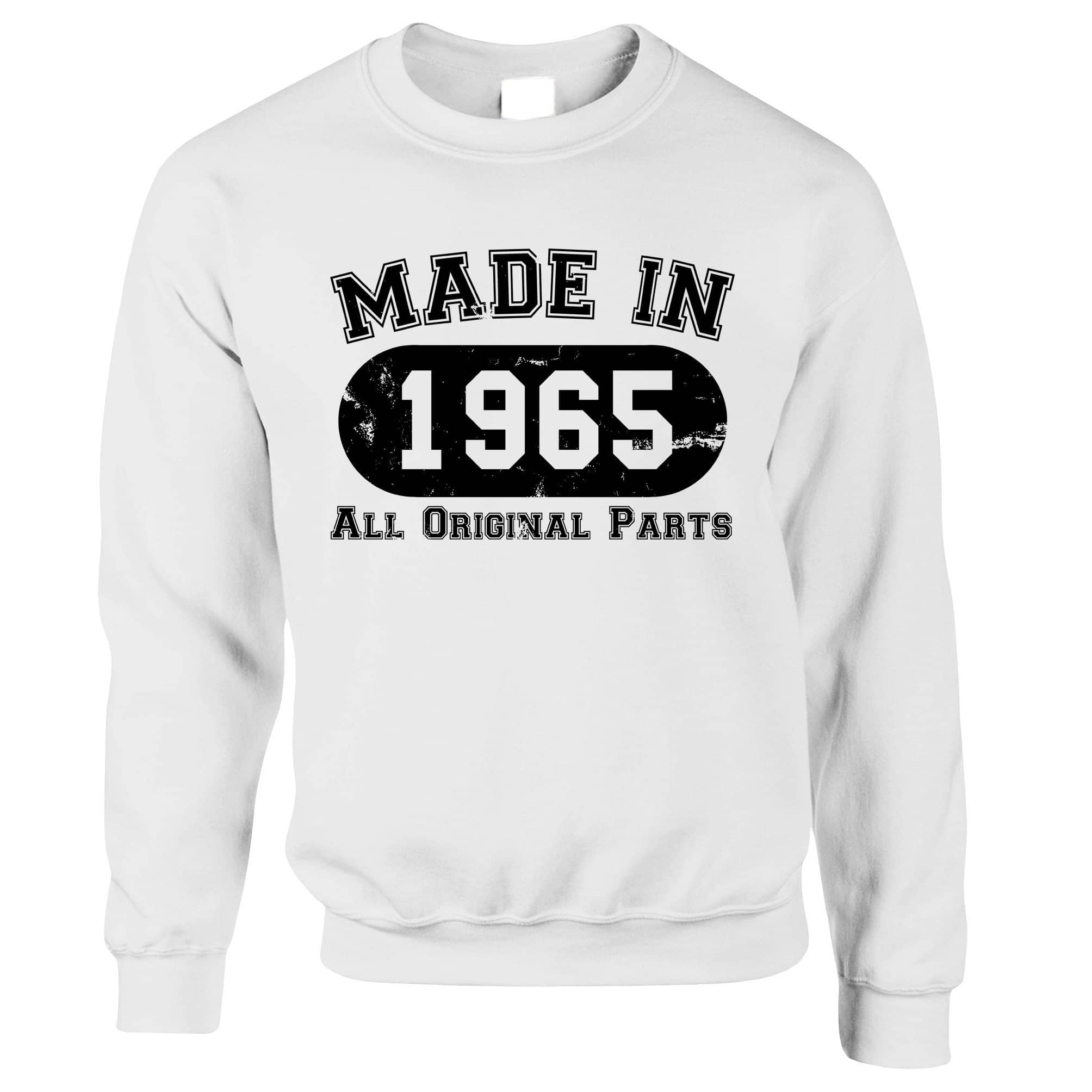 Made in 1965 All Original Parts Sweatshirt Jumper [Distressed]