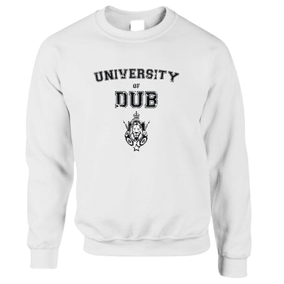 Music Jumper University Of Dub Slogan Sweatshirt Sweater
