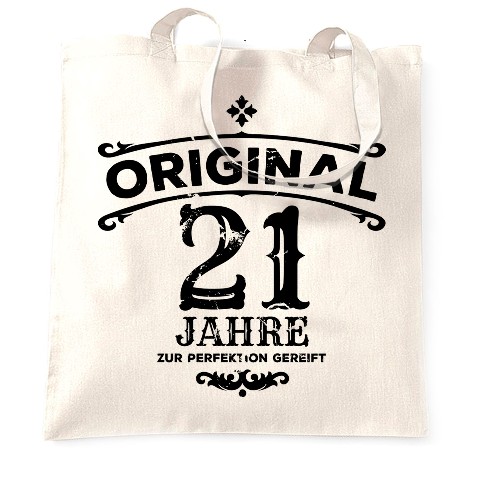21st Birthday Tote Bag Original Aged Years Twenty One