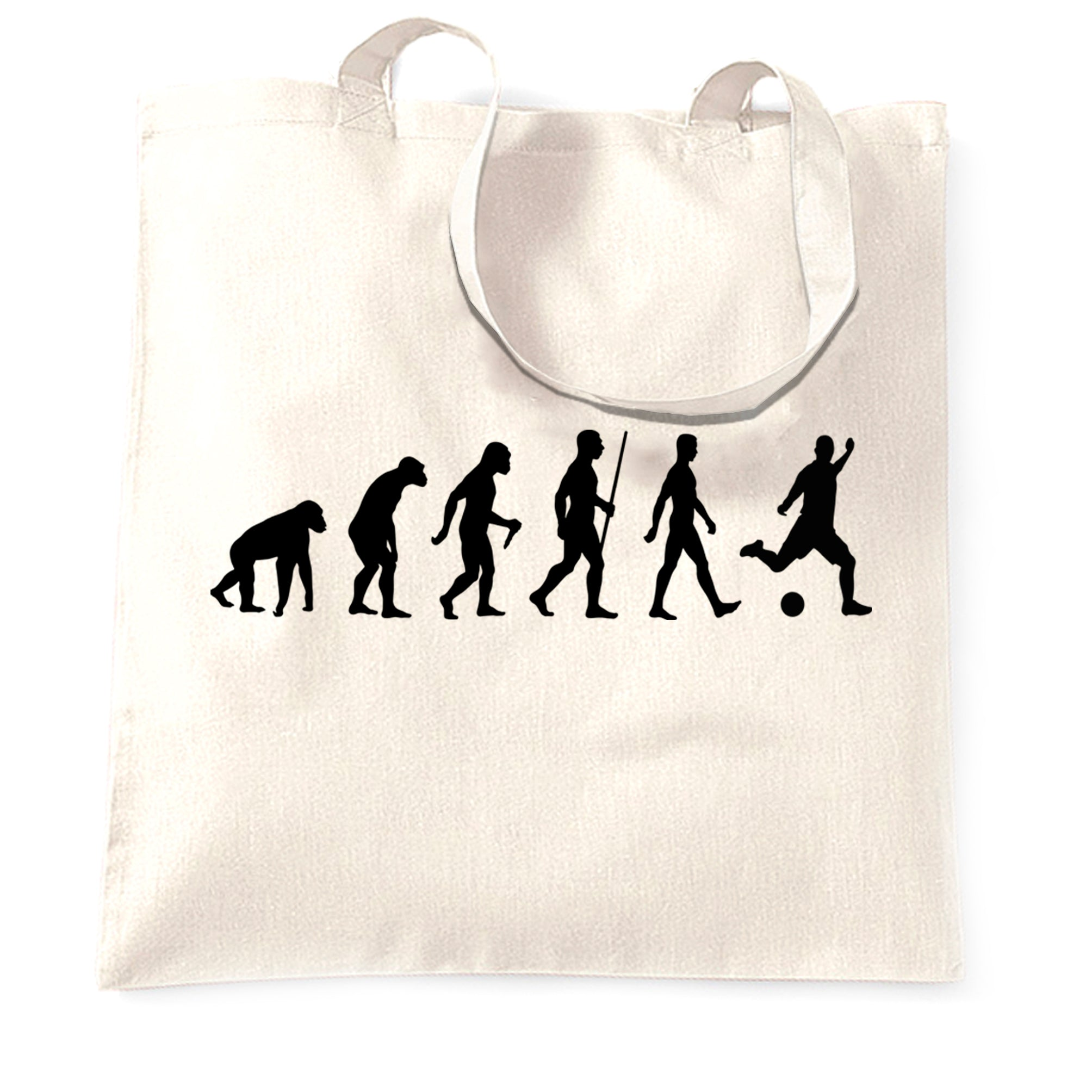 Football Fan Tote Bag The Evolution Of A Footballer