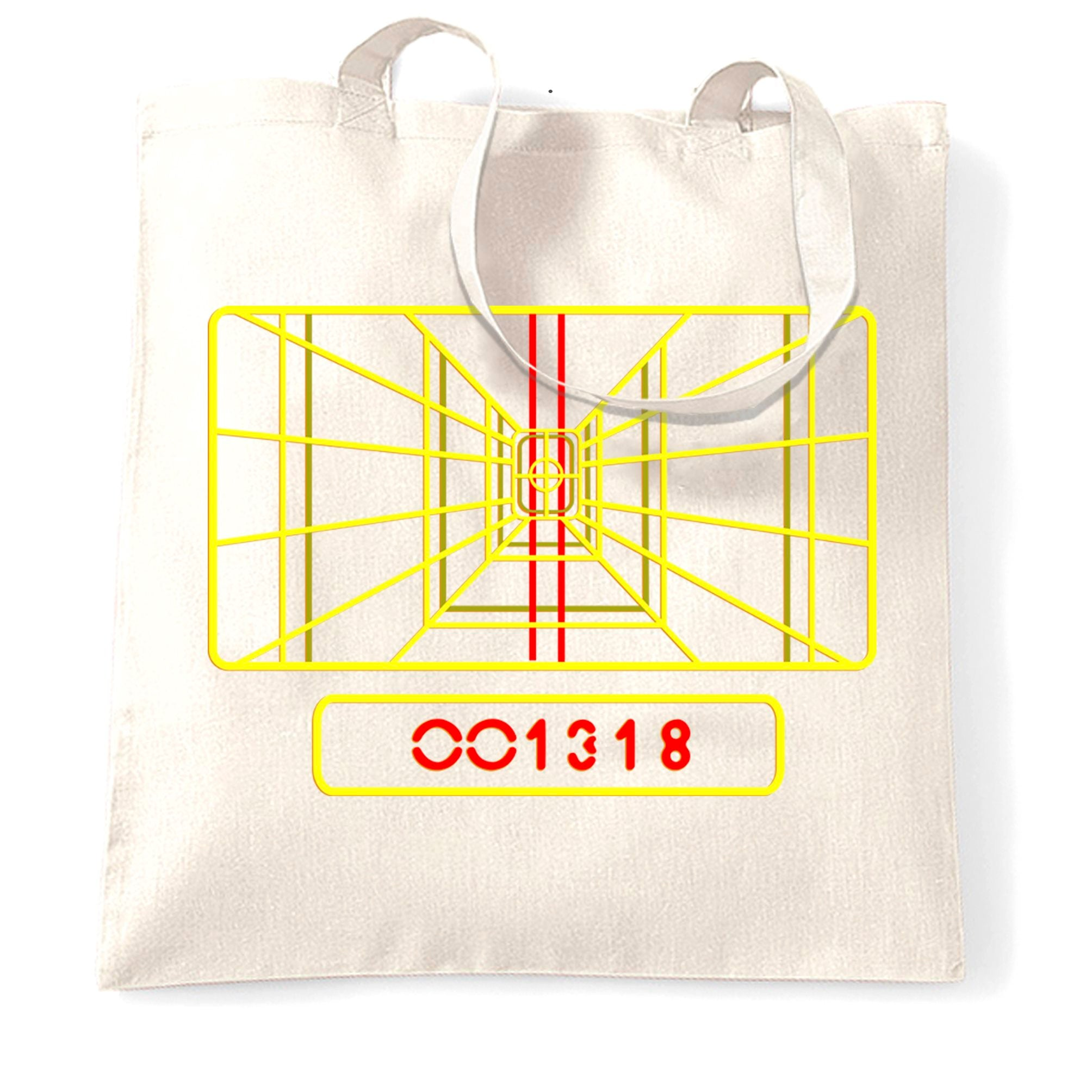 Luke's Almost There Targeting Computer Tote Bag