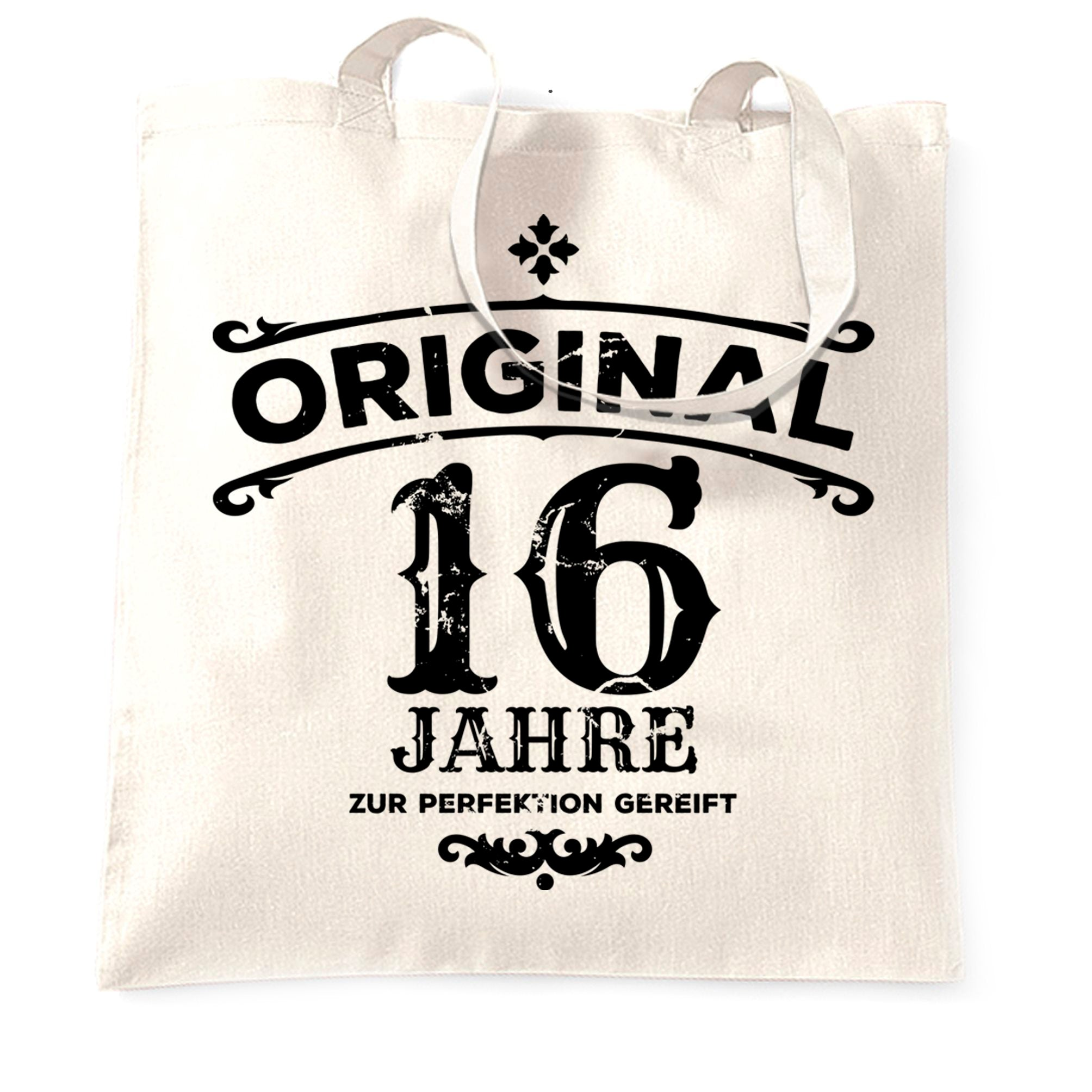 16th Birthday Tote Bag Original Aged Sixteen 16 Years