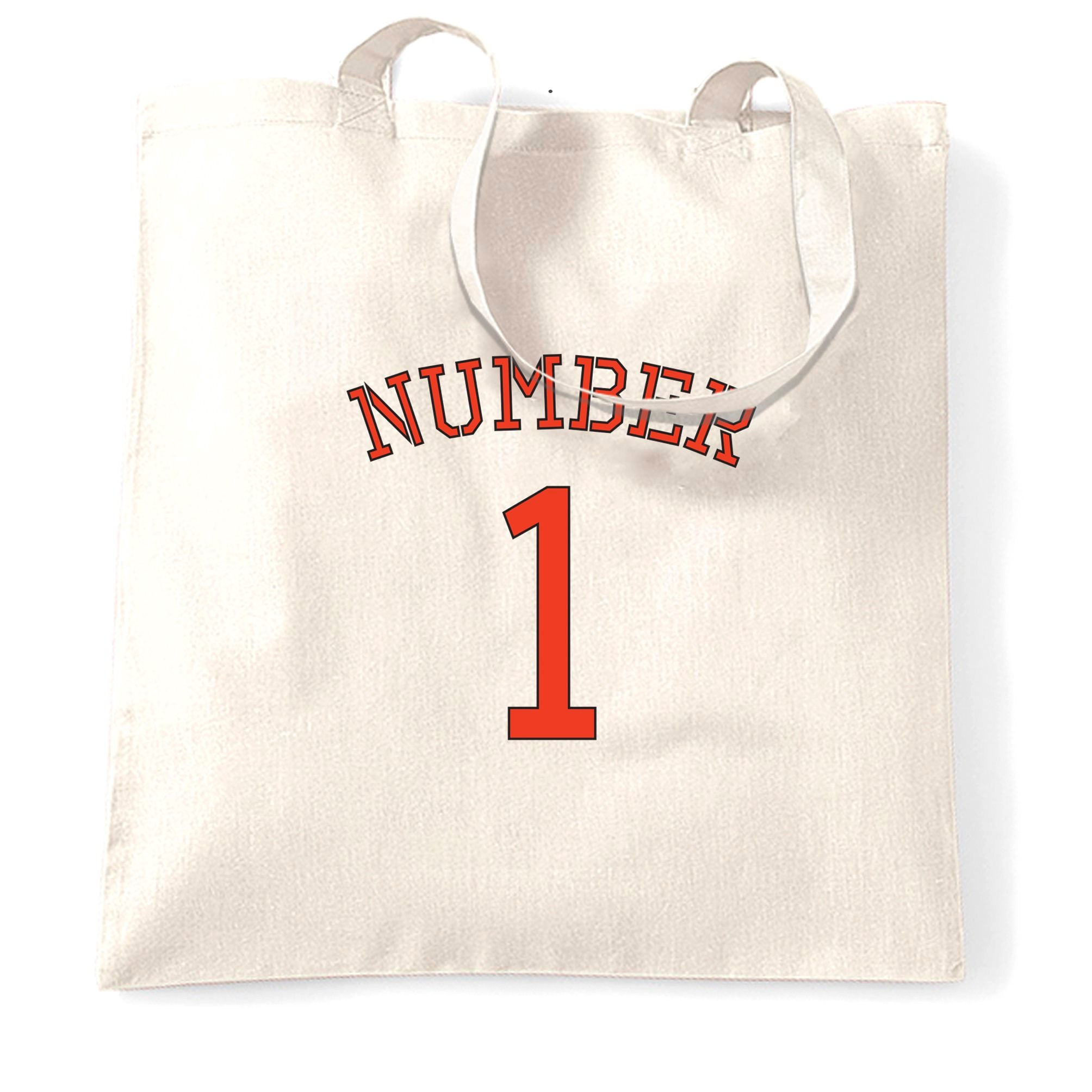 The Best Number One Champion Winner Tote Bag