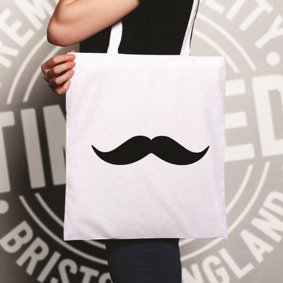 Trendy Tote Bag Simple Moustache Shape