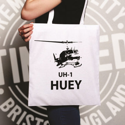 Military Tote Bag UH-1 Huey Helicopter