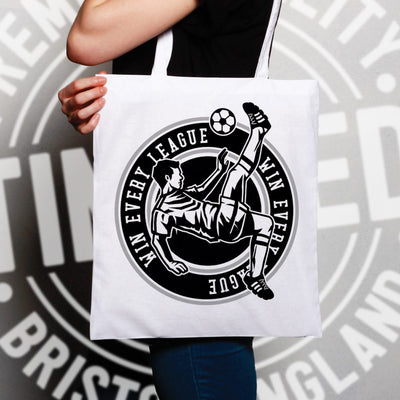 Football Tote Bag Win The League Motivation