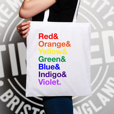 LGBTQ Tote Bag The Colours of the Rainbow