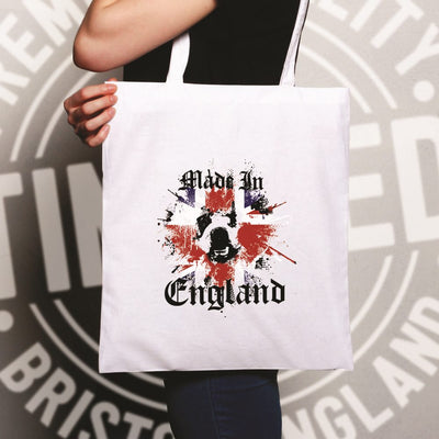 Made In England Tote Bag British Bulldog