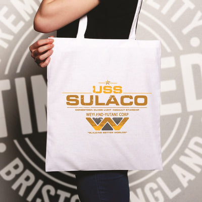 Alien Tote Bag USS Sulaco Building Better Worlds