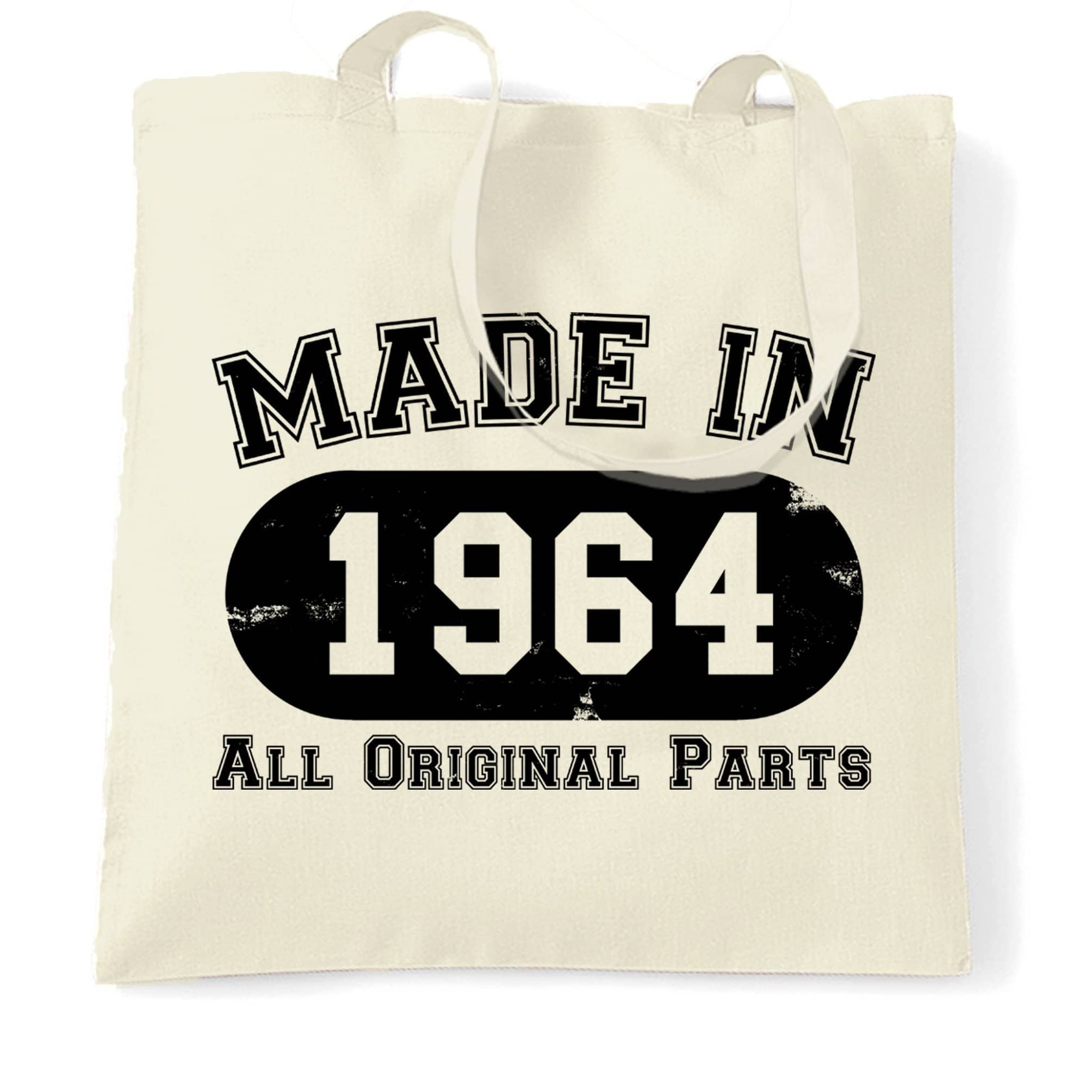 Made in 1964 All Original Parts Tote Bag [Distressed]