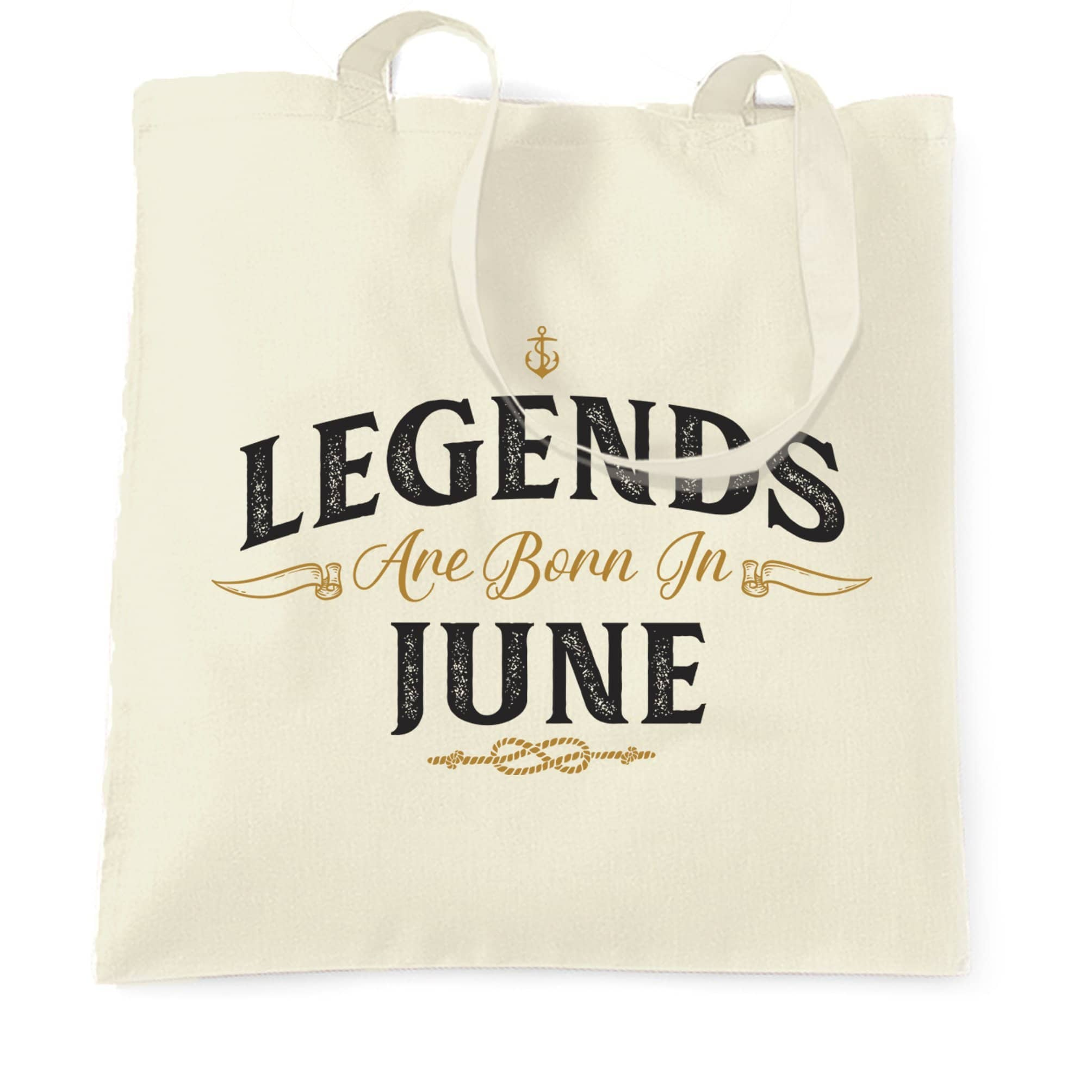 Birthday Tote Bag Legends Are Born In June