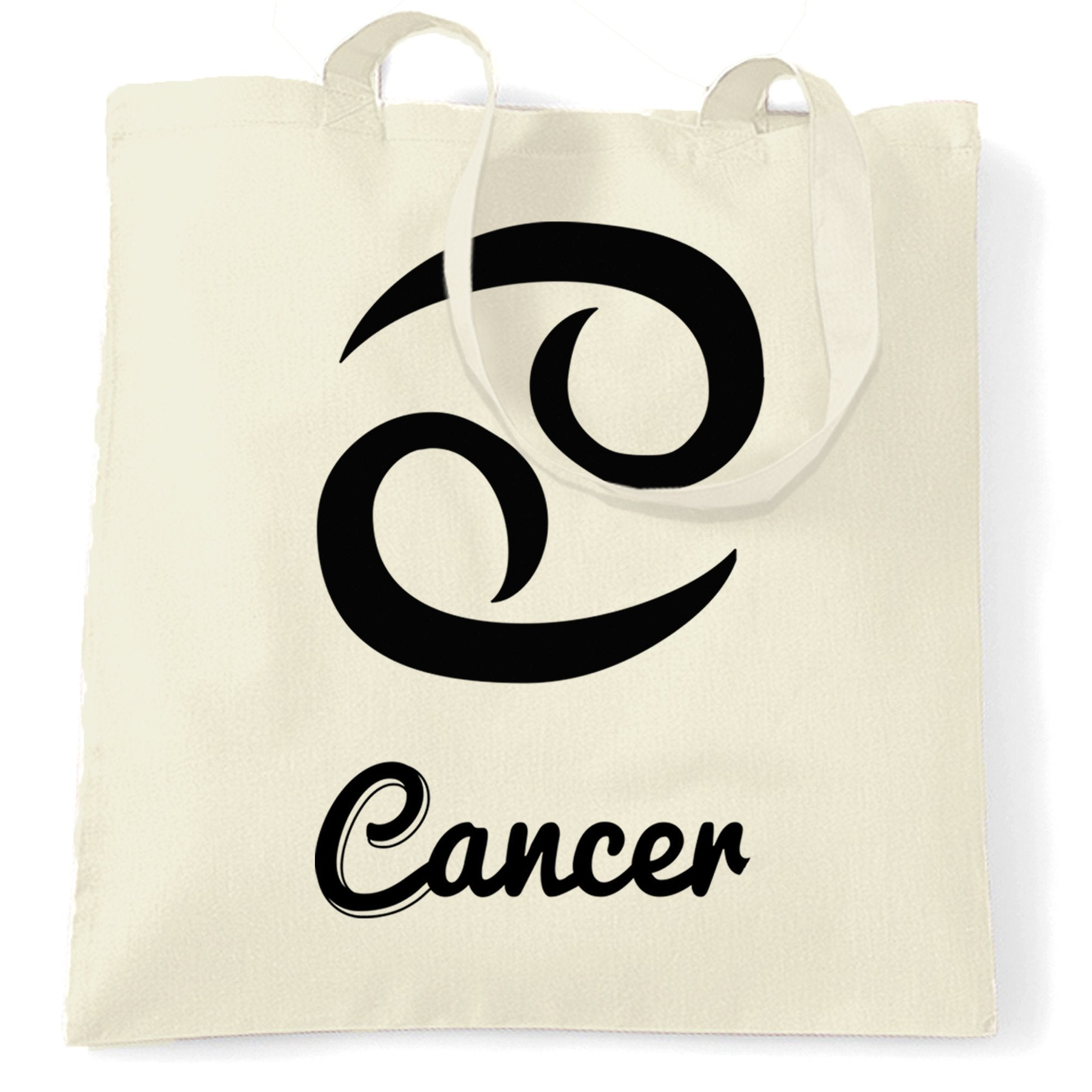 Horoscope Tote Bag Cancer Zodiac Star Sign Birthday