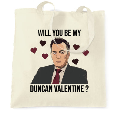 Valentine's Tote Bag Be My Duncan Valentine