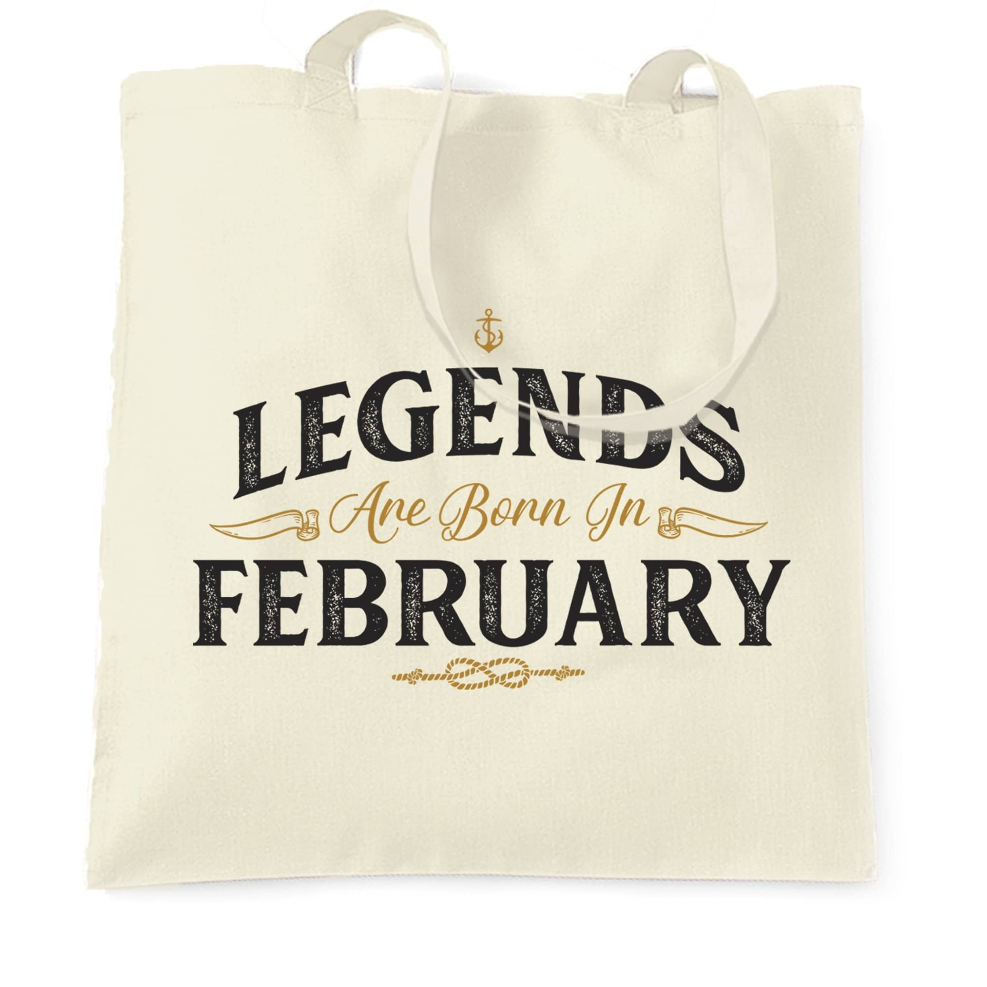 Birthday Tote Bag Legends Are Born In February