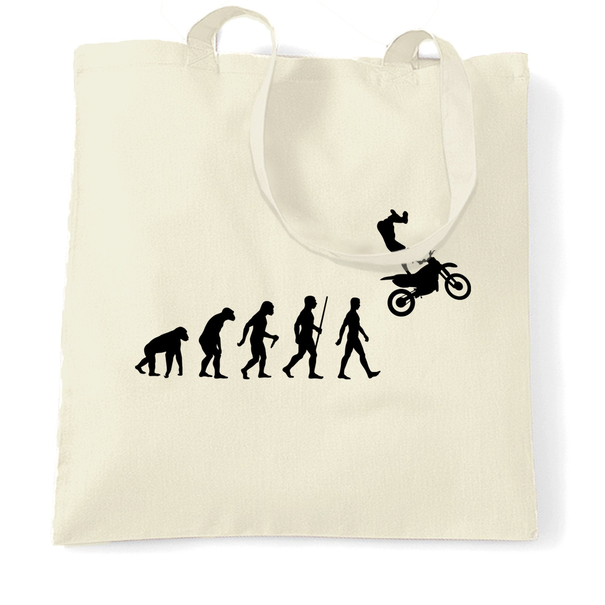 Sports Tote Bag The Evolution Of Motocross Jumping