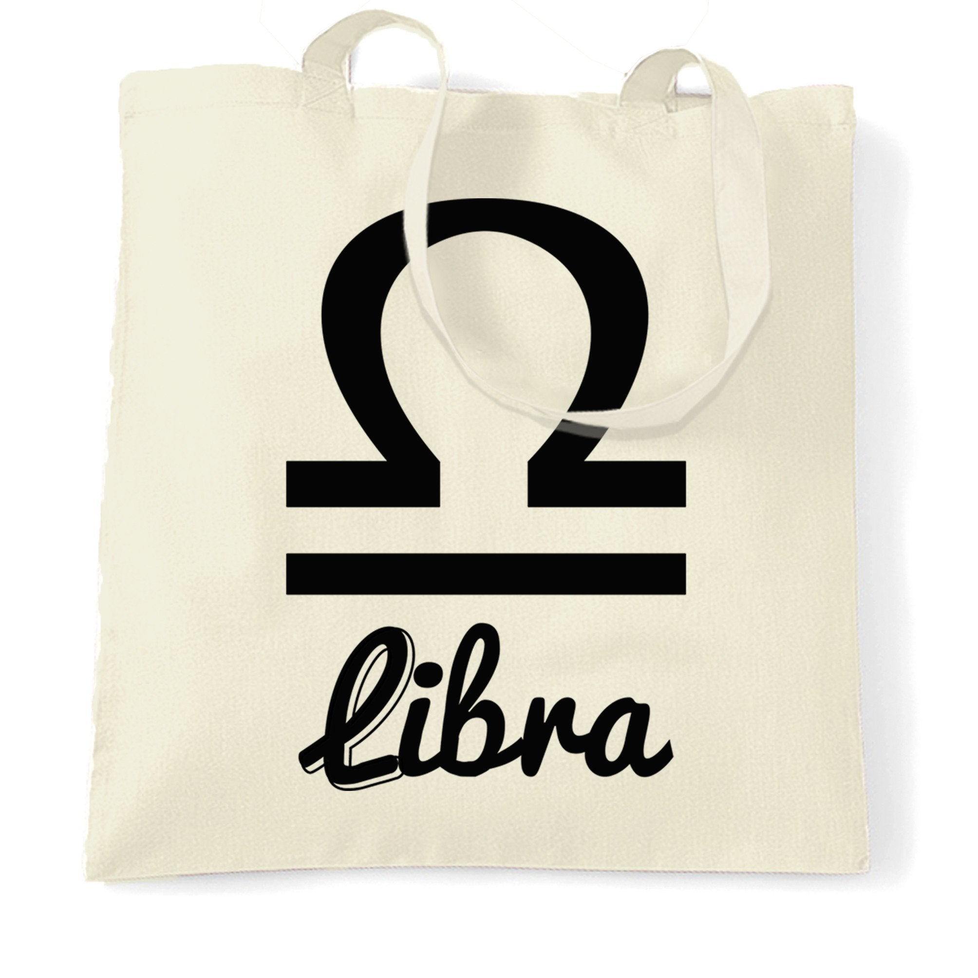 Horoscope Tote Bag Libra Zodiac Star Sign Birthday