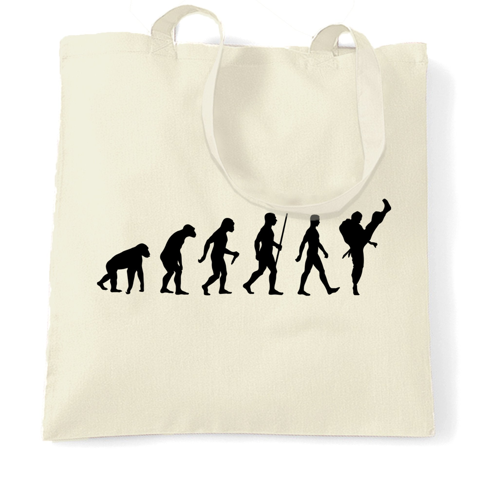 Martial Arts Tote Bag The Evolution Of Karate