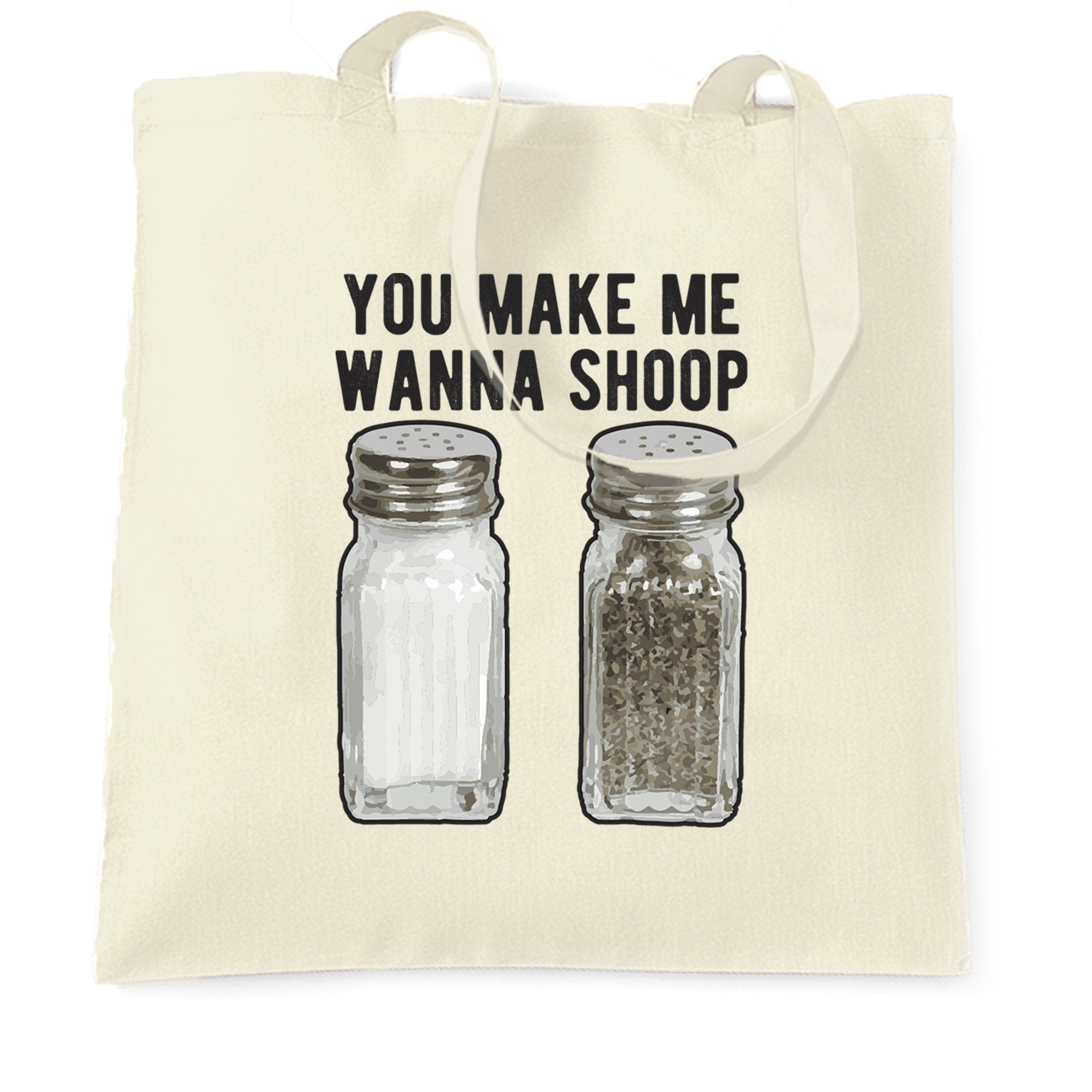 Hip Hop Tote Bag Salt and Pepper Shakers
