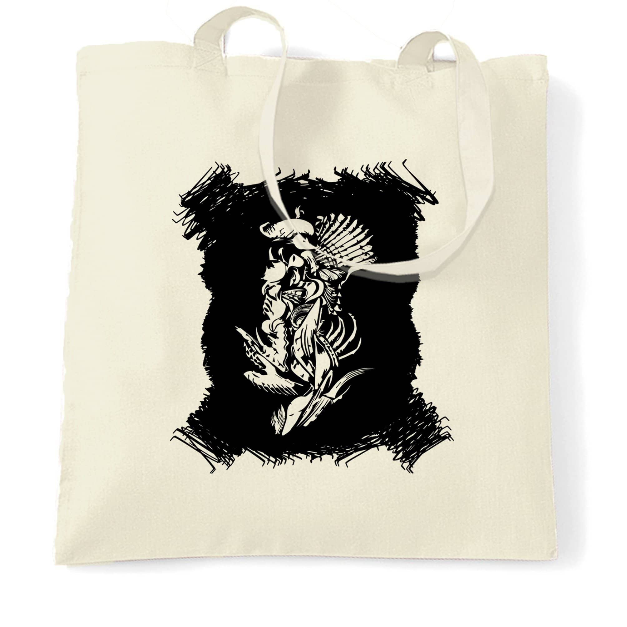Abstract Tribal Art Tote Bag Native American Indian