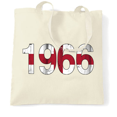 1966 England Flag Tote Bag Football Team Supporters