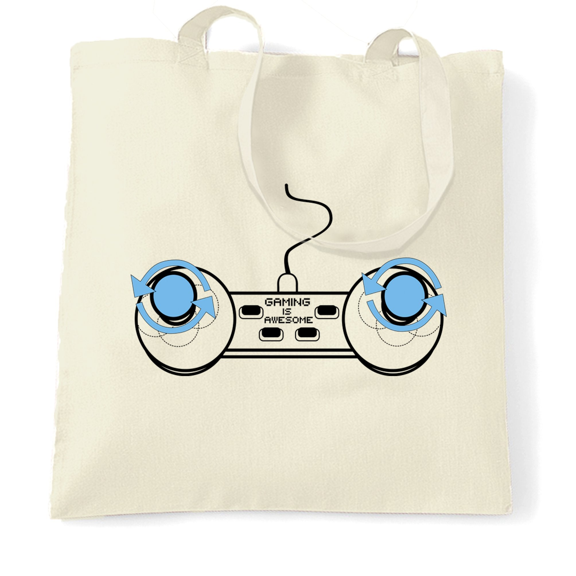 Video Game Tote Bag Gaming Is Awesome Controller