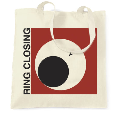 Novelty Gaming Tote Bag Ring Closing Design