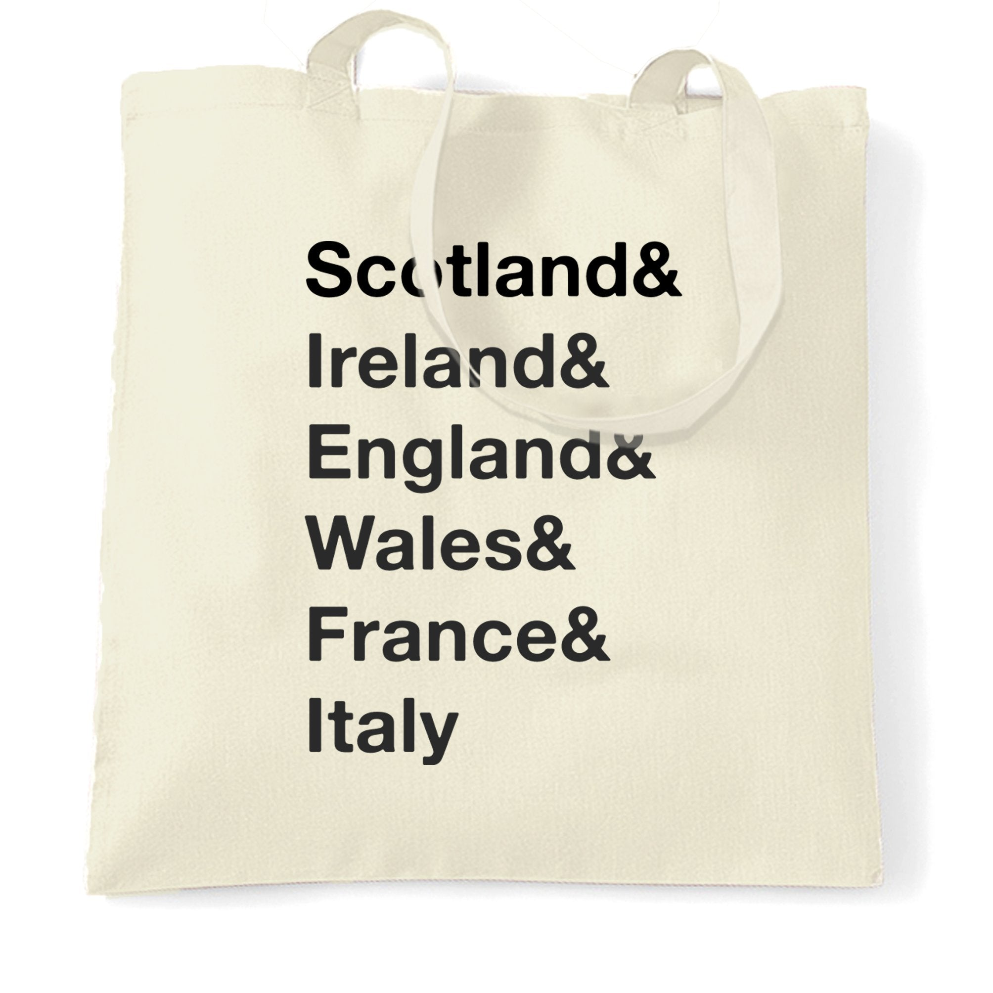 The Six Nations Tote Bag Scotland, Ireland, England