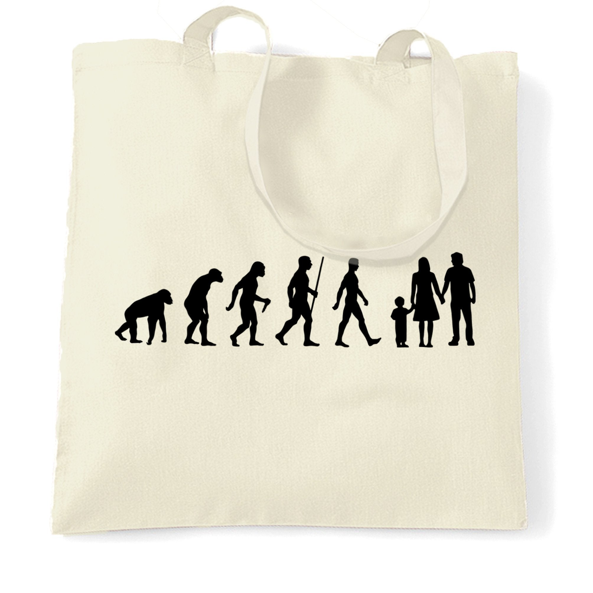 Parenthood Tote Bag Evolution Of A Family Two Boys