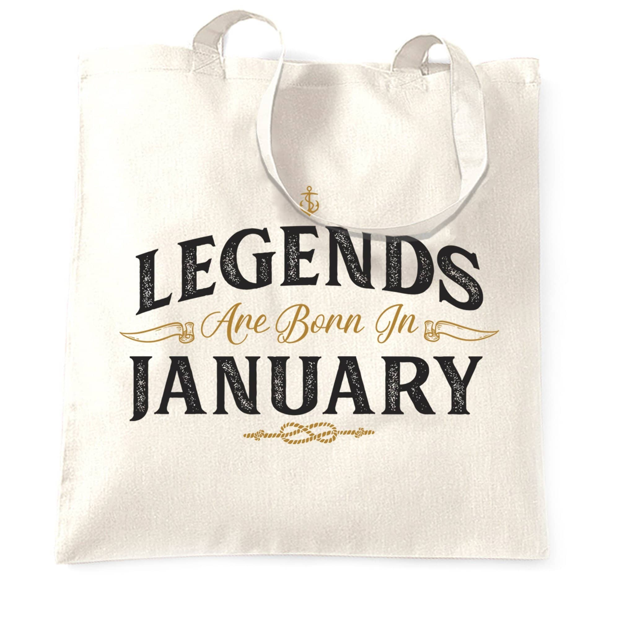 Birthday Tote Bag Legends Are Born In January