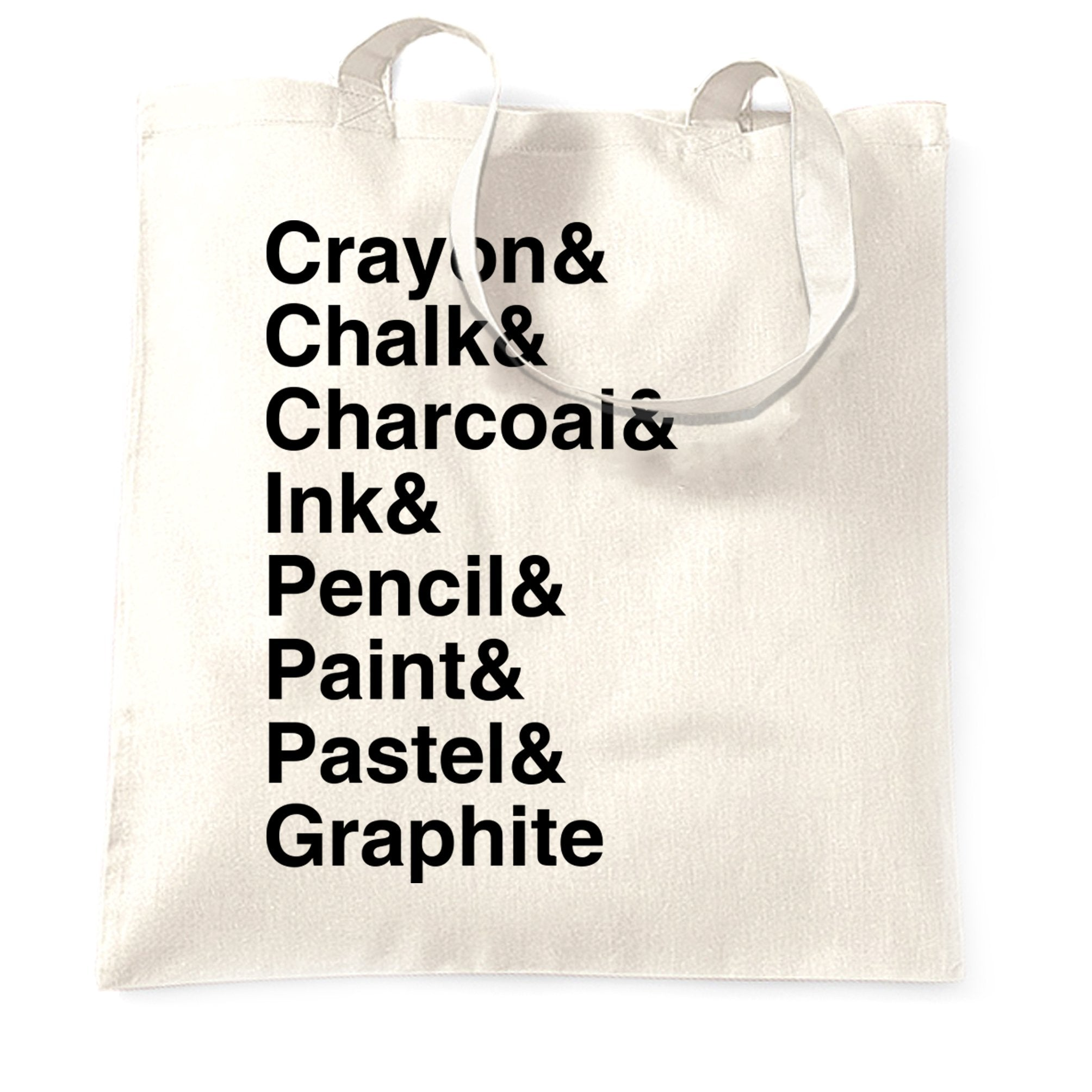 Utencils Tote Bag The Art Supplies List