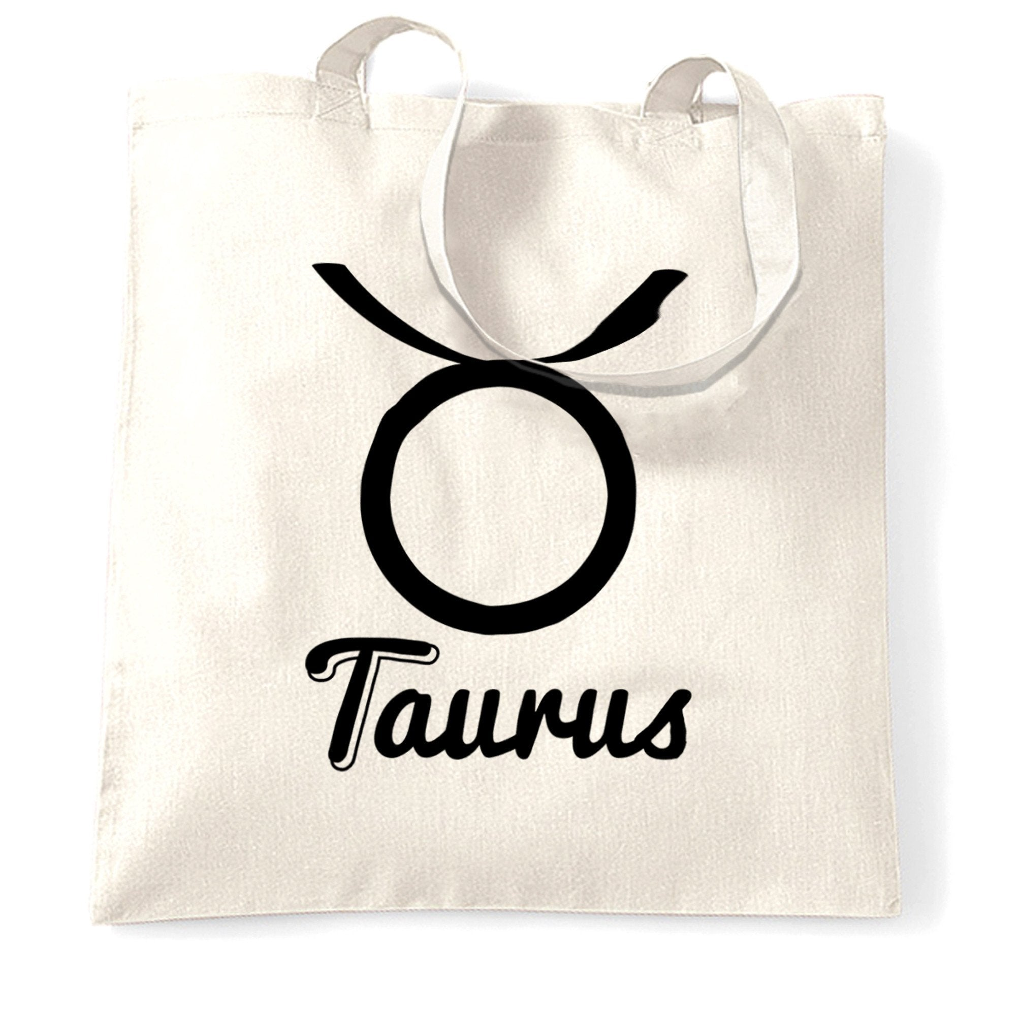 Horoscope Tote Bag Taurus Zodiac Star Sign Birthday