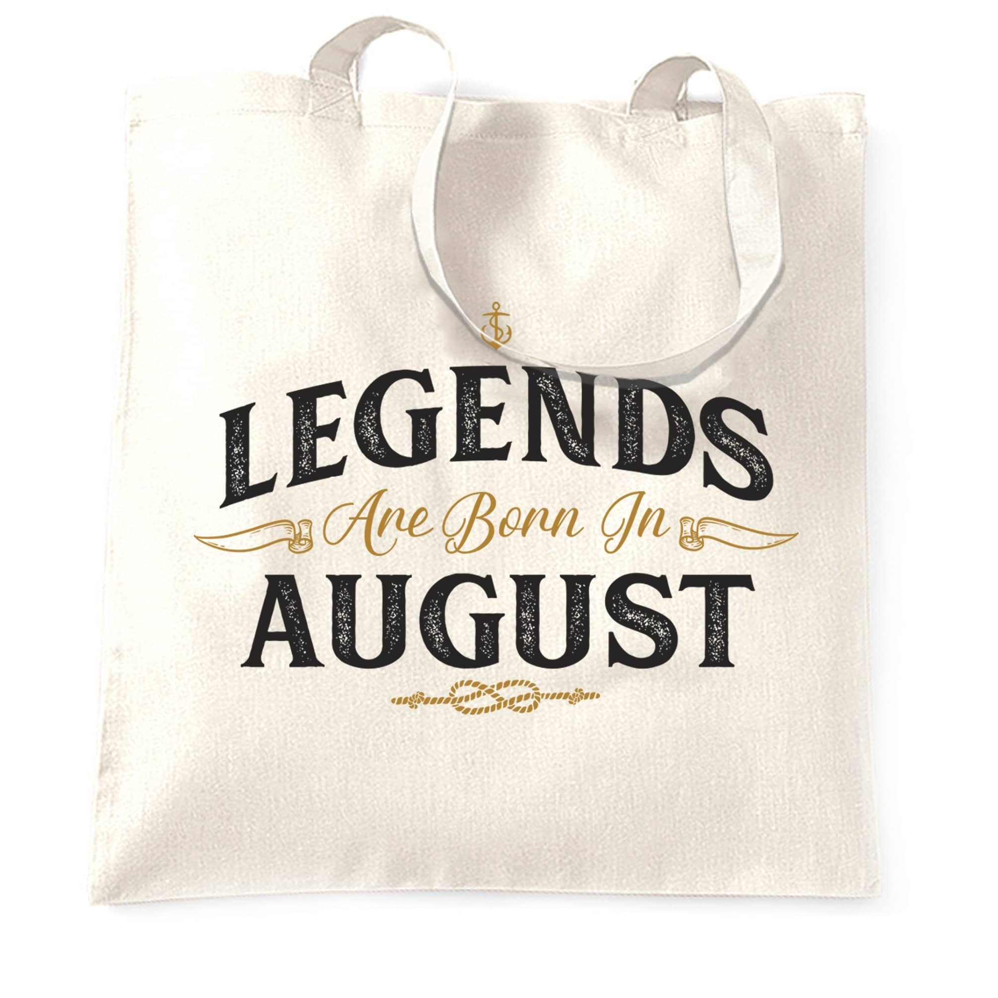 Birthday Tote Bag Legends Are Born In August