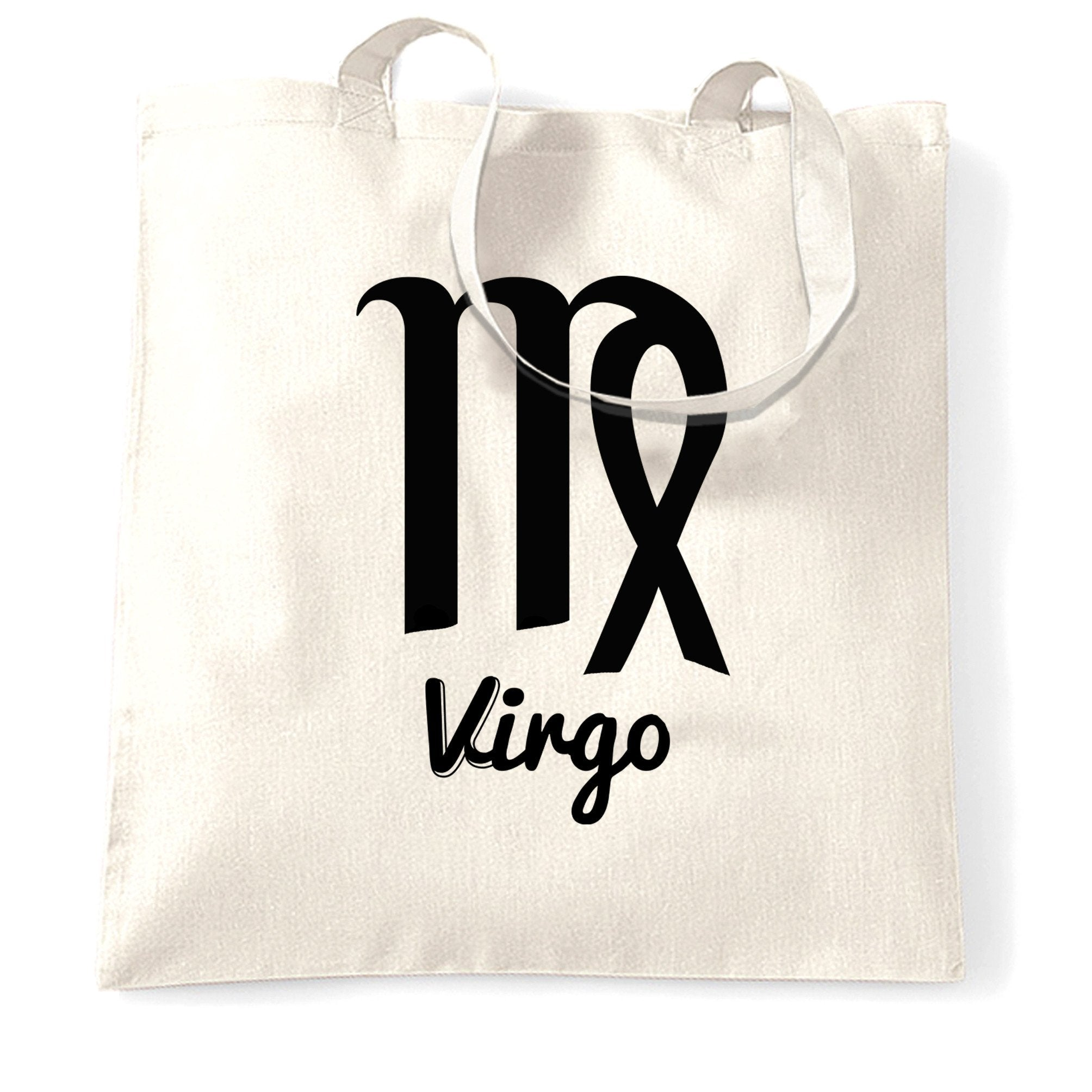 Horoscope Tote Bag Virgo Zodiac Star Sign Birthday