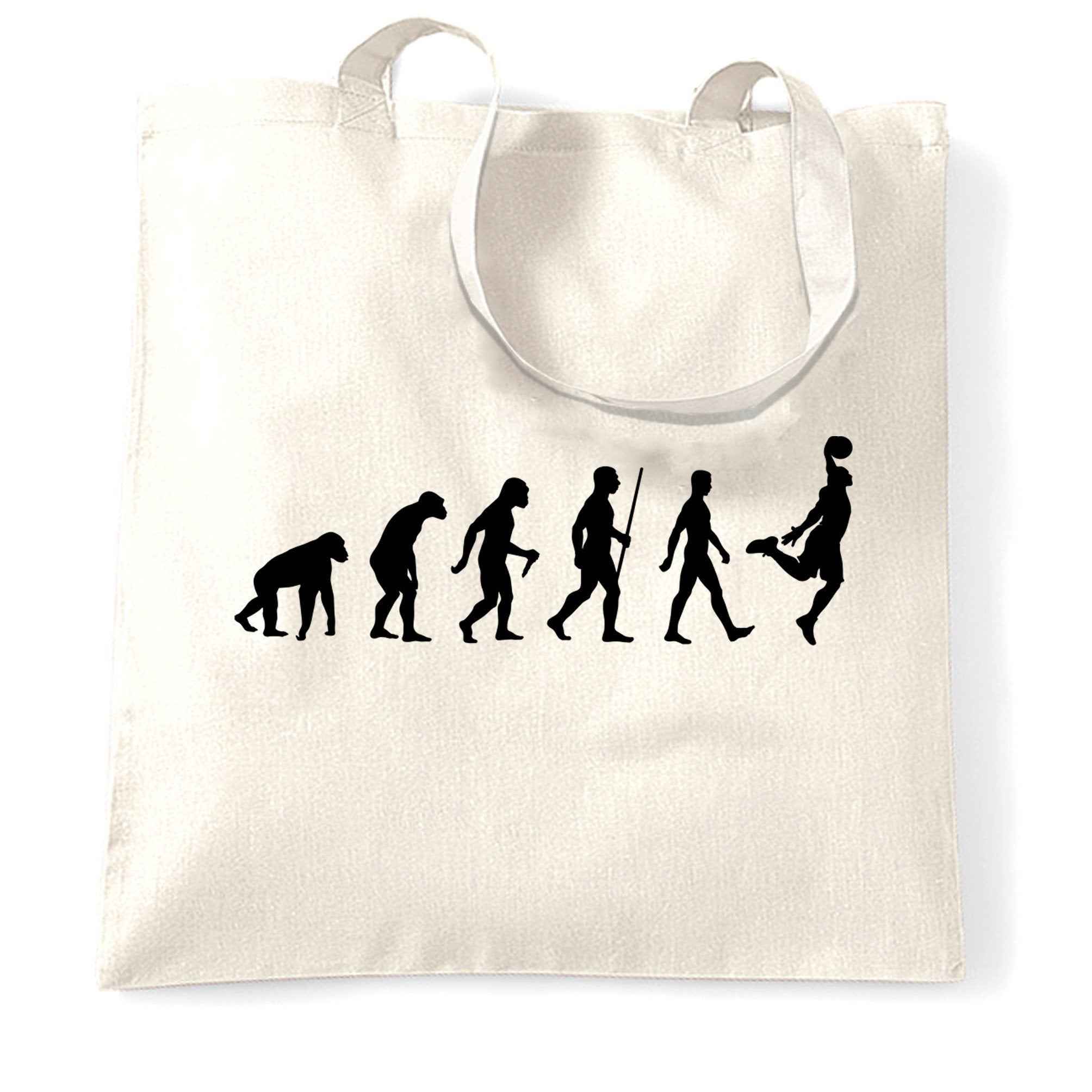 Sports Tote Bag Evolution Of A Basketball Player