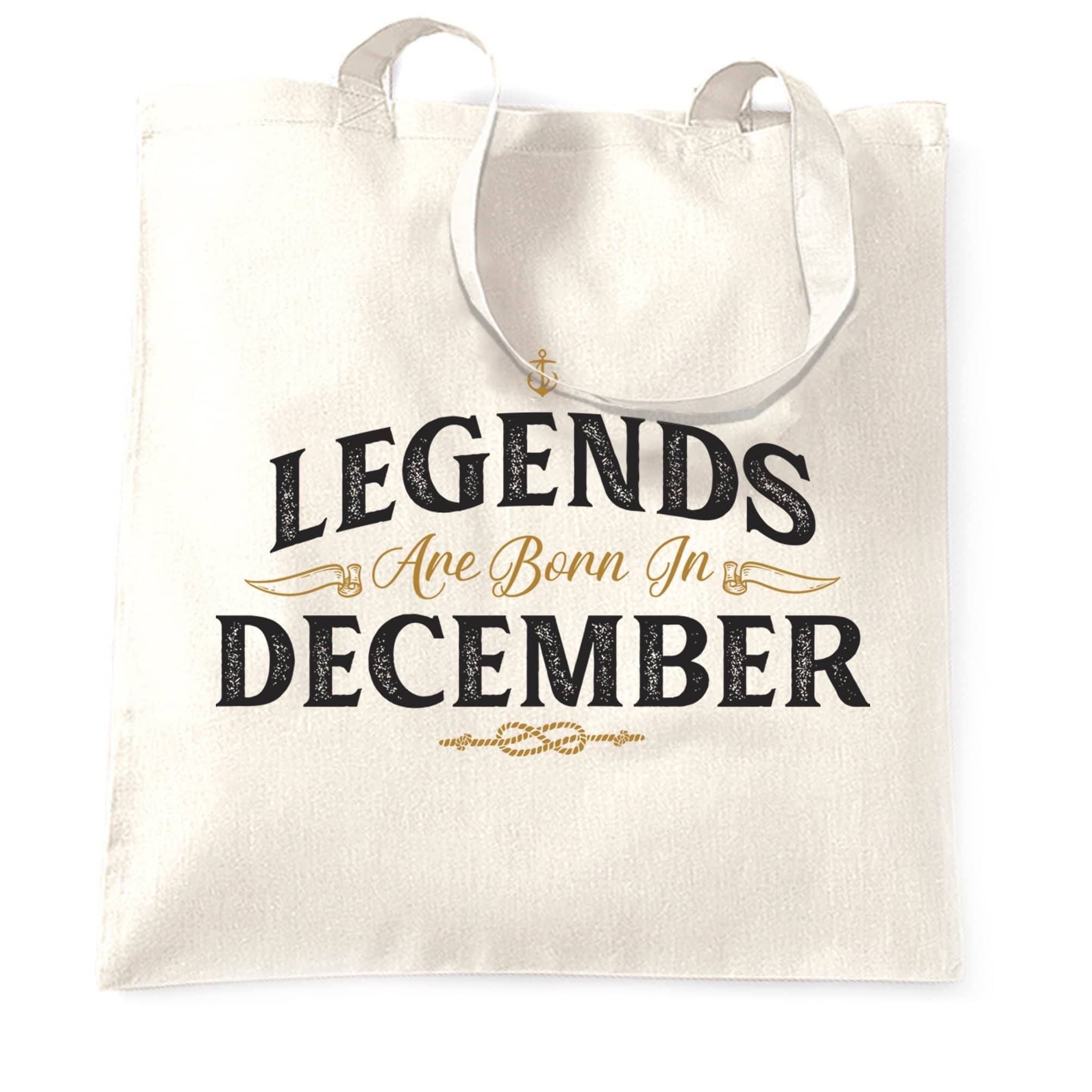 Birthday Tote Bag Legends Are Born In December