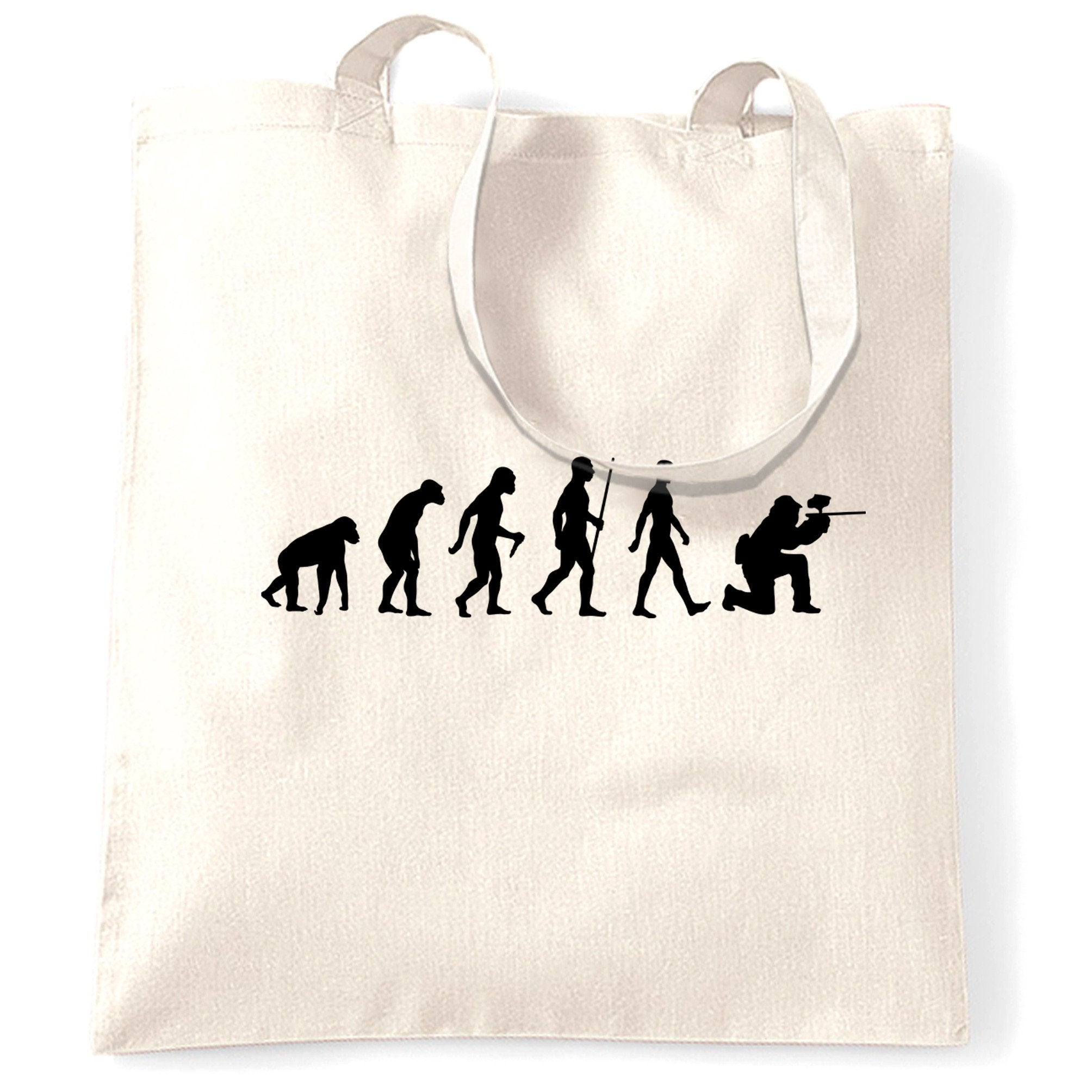 Sports Tote Bag The Evolution Of A Paintballer
