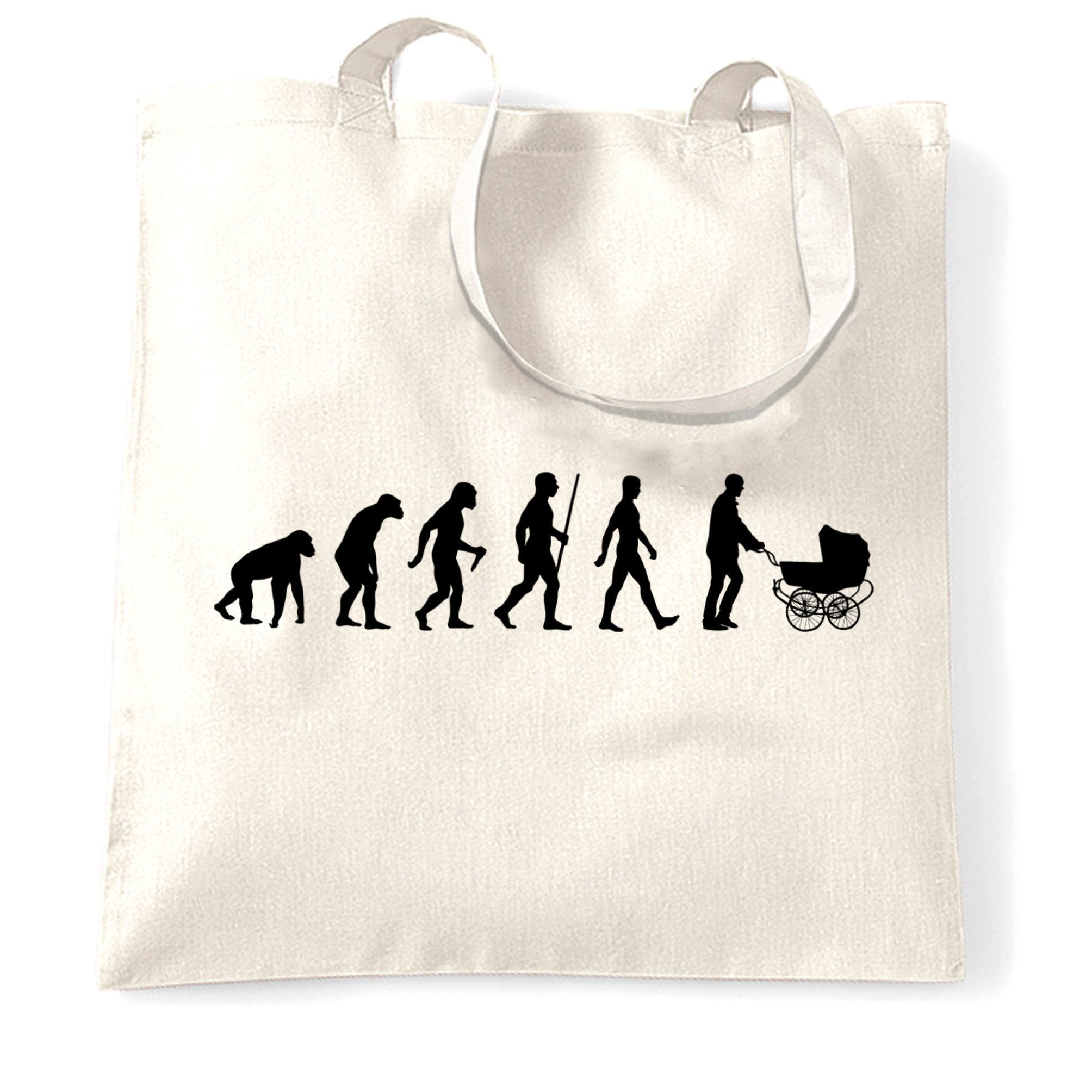 Parenthood Tote Bag Evolution Of A Family New Born Baby