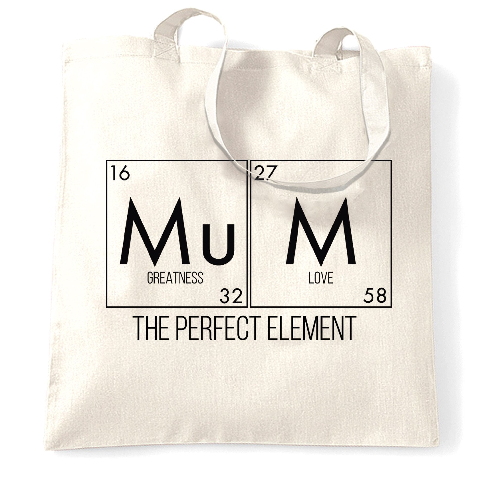 Mother's Day Tote Bag Mum, The Greatest Element