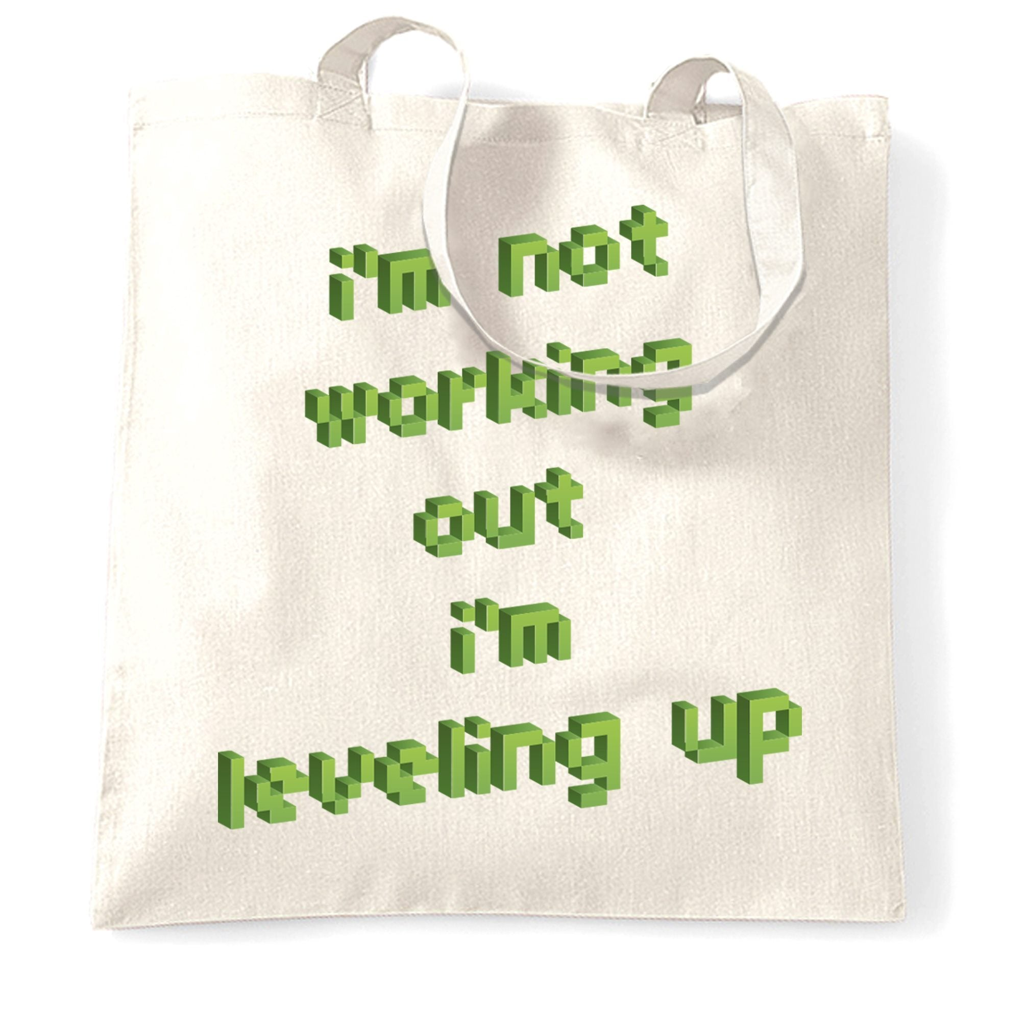 Joke Gaming Tote Bag Not Working Out, I'm Levelling Up