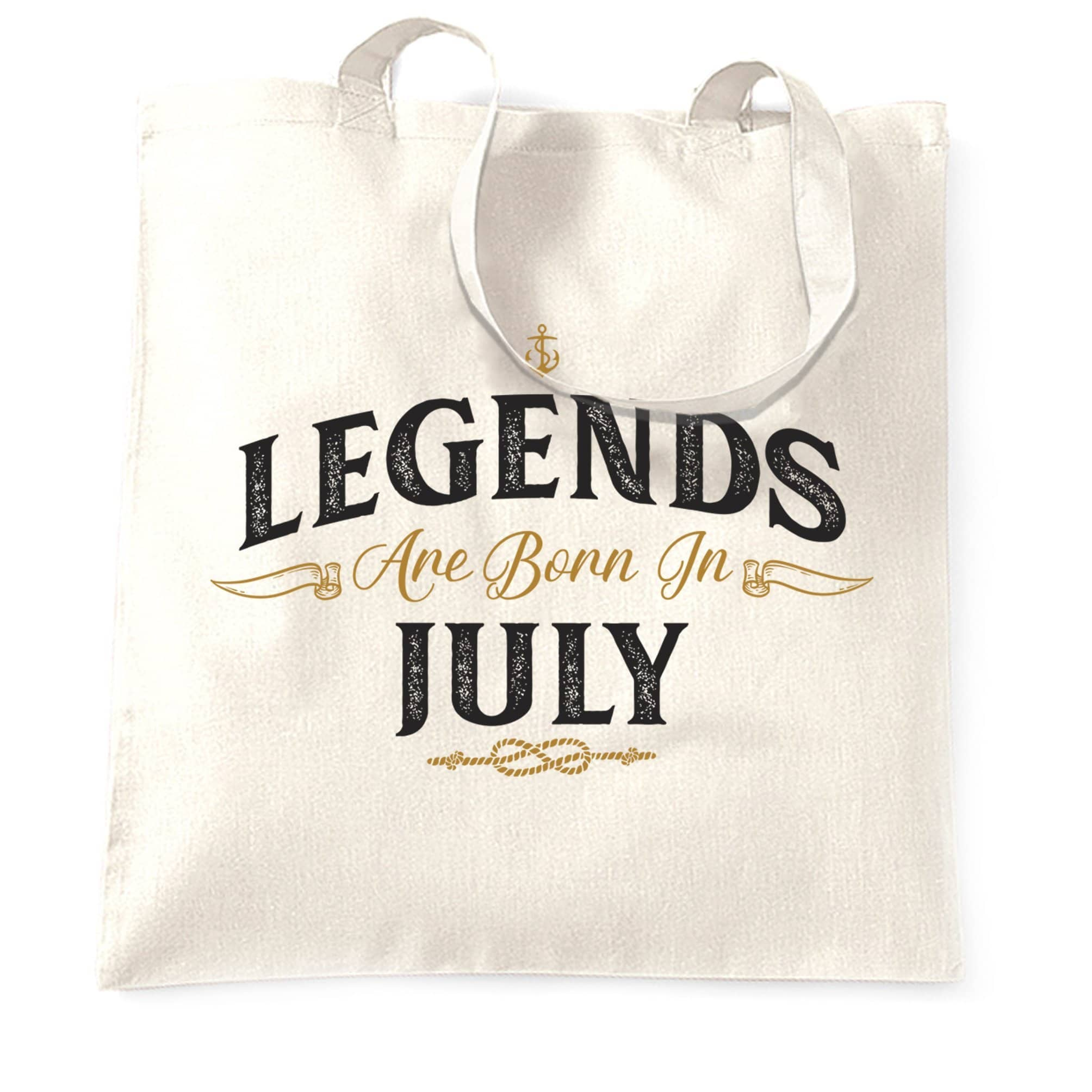 Birthday Tote Bag Legends Are Born In July