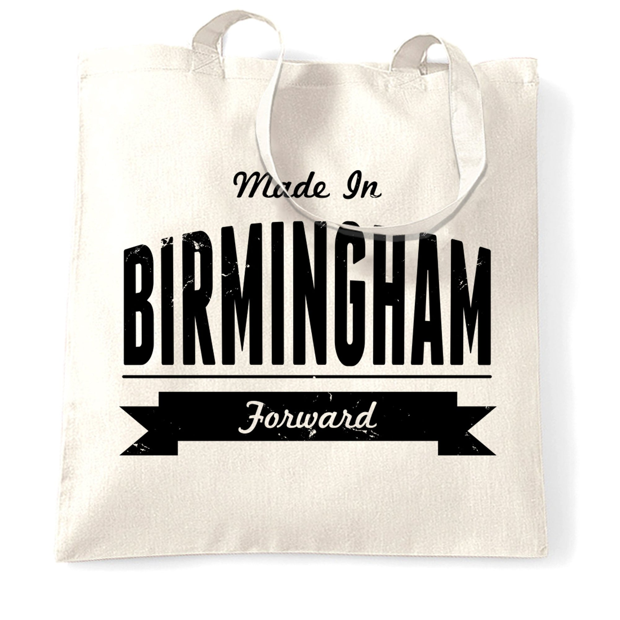 Hometown Pride Tote Bag Made in Birmingham Banner