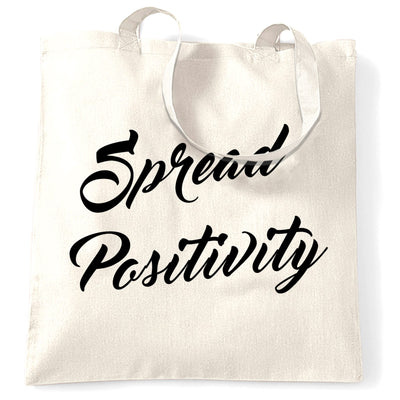 Summer Festival Tote Bag Spread Positivity Slogan