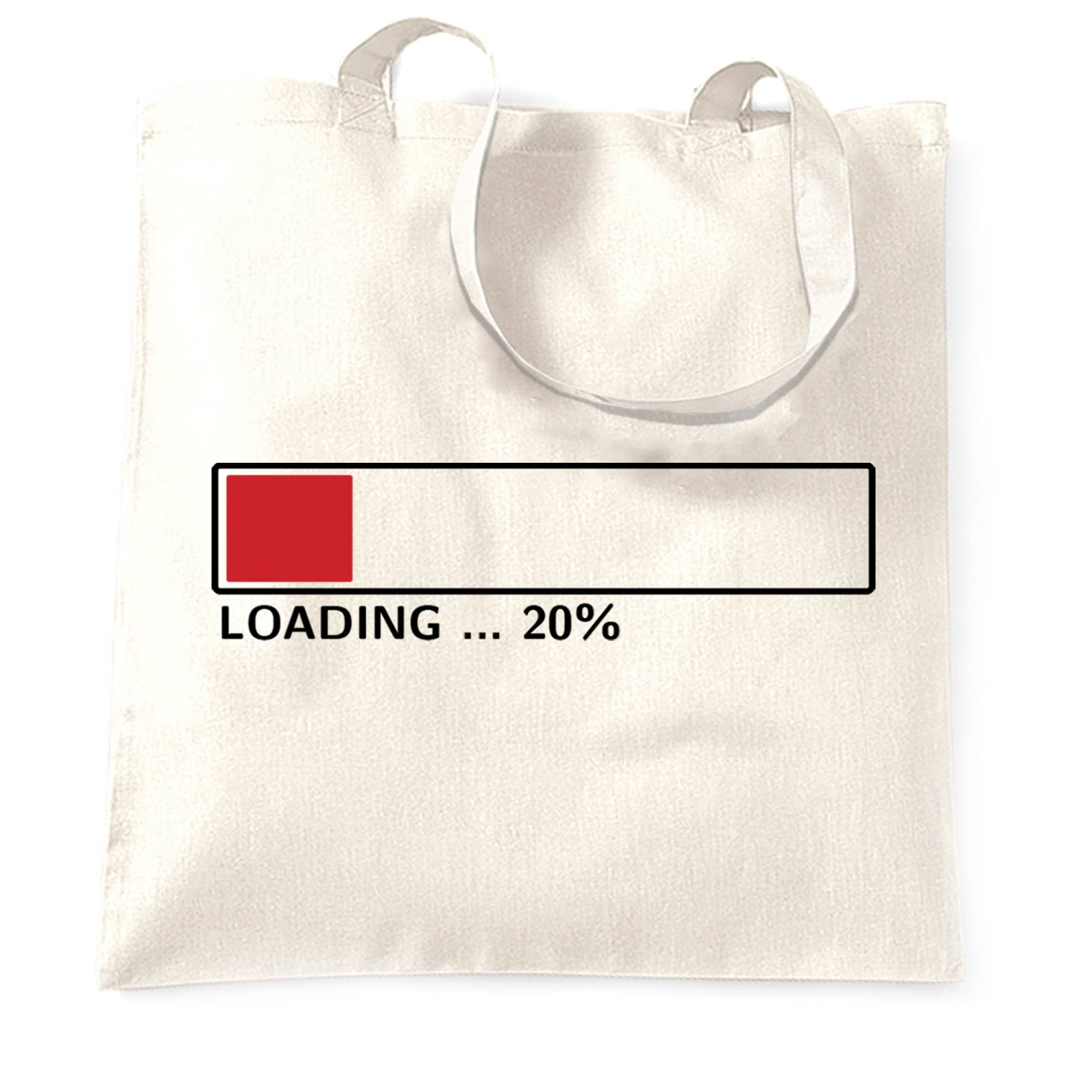 20th Birthday Tote Bag Loading 20% Complete Twenty