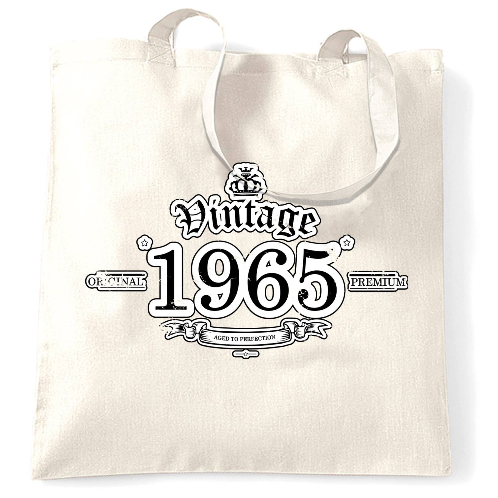 53rd Birthday Tote Bag Vintage 1965 Aged To Perfection
