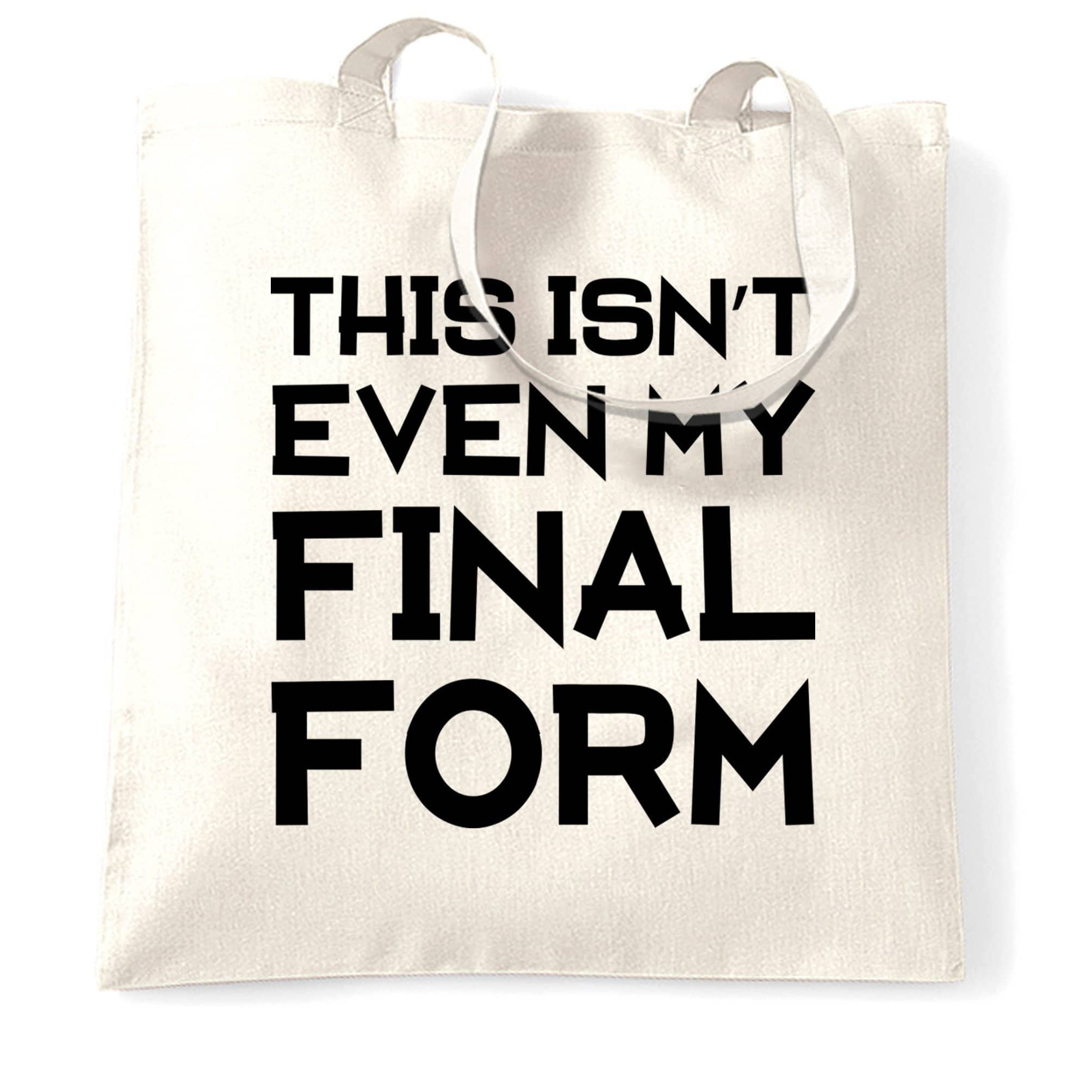 Anime Parody Tote Bag This Isn't Even My Final Form