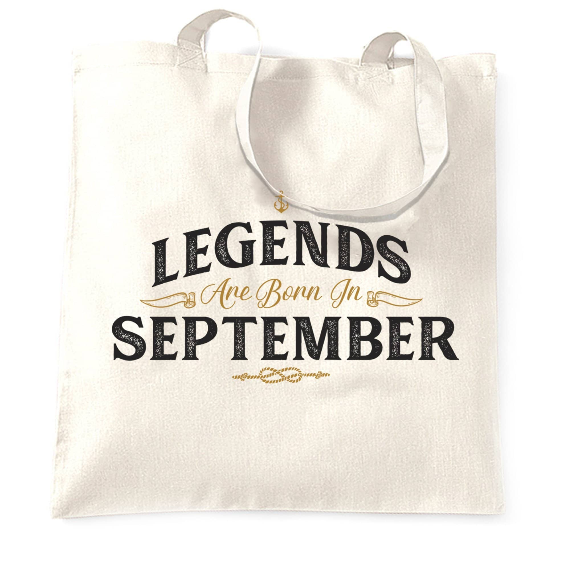 Birthday Tote Bag Legends Are Born In September