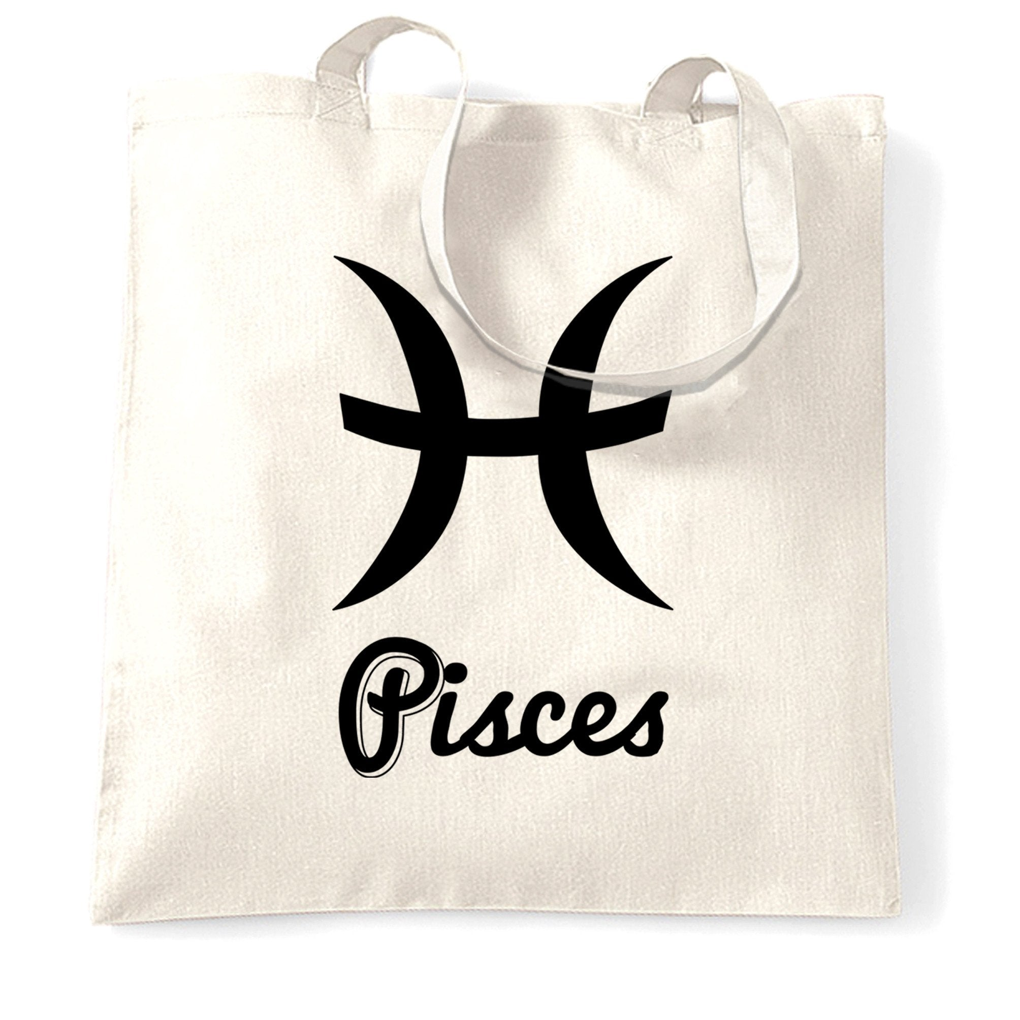 Horoscope Tote Bag Pisces Zodiac Star Sign Birthday