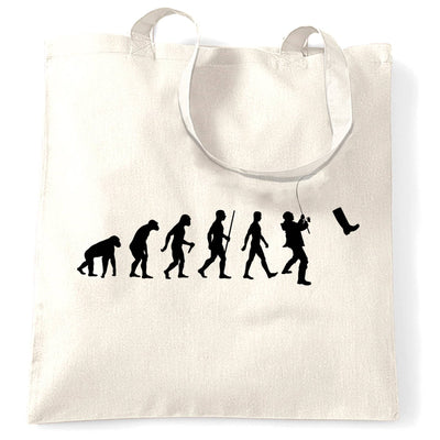 Fisherman Tote Bag The Evolution Of Fishing Boot